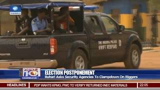 Buhari Orders Security Agencies To Clampdown On Election Riggers