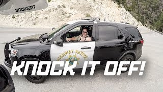 YOU NEED TO KNOCK IT OFF! | 701RIDEOUT
