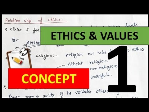 """Ethics and Values in Engineering Profession """" PART 1 IES PAPER 1 """""""