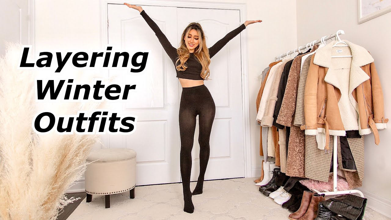 Winter Outfit Ideas   Layering for the winter