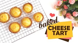 Easy Baked Cheese Tart