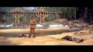 Kithulgala the brige on the river kwai chopped on