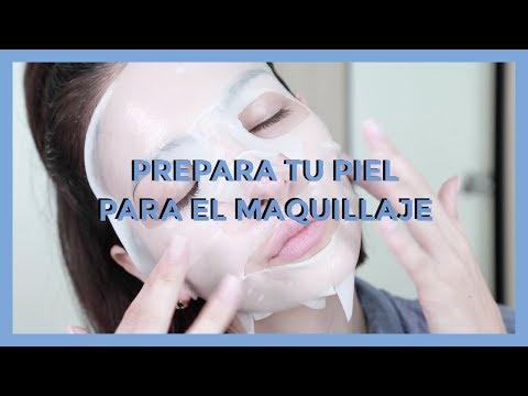Cómo preparar la piel para el maquillaje | Anna Sarelly