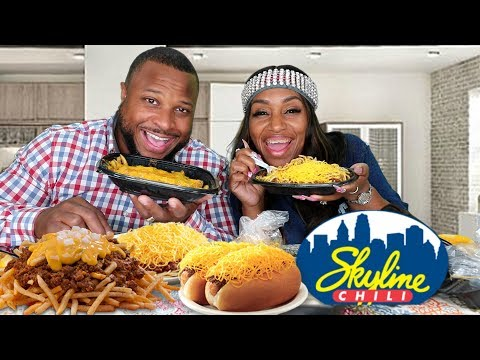 First Time Trying Skyline Chili