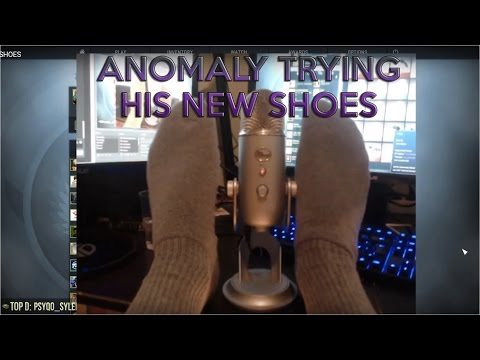 ANOMALY TRYING NEW SHOES LIVE