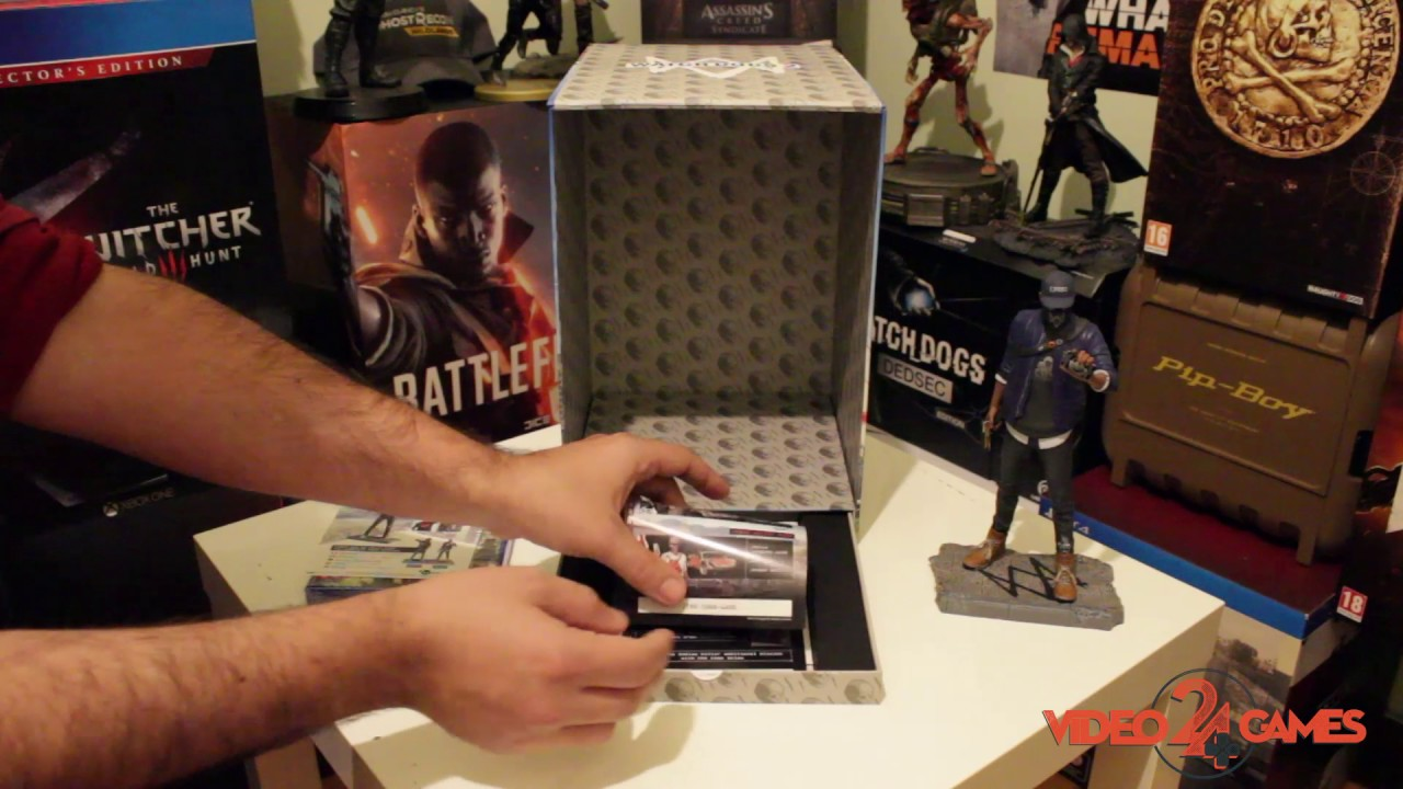 Watch Dogs  San Francisco Unboxing