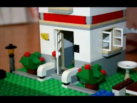 Веселый переезд Lego 2013