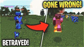 We BETRAYED FastlyCrafted (IN CALL)... but it went WRONG | Minecraft Factions