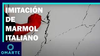 ✅Cómo aplicar ESTUCO VENECIANO- marmol BLANCO CARRARA -FAUX MARBLE💠