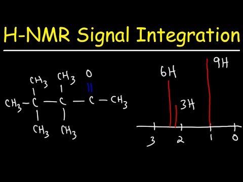 Integration of H NMR Signals - Spectroscopy - Organic Chemistry