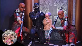 Dora Milaje show our daughter it's ok to be bald! #BaldIsBeautiful | Disneyland vlog #91