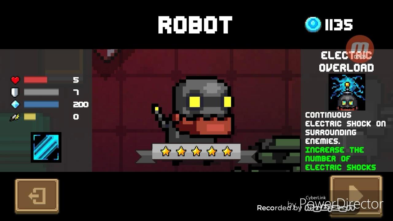 元氣騎士Soul Knight 新角色機器人 New character 'Robot' - YouTube