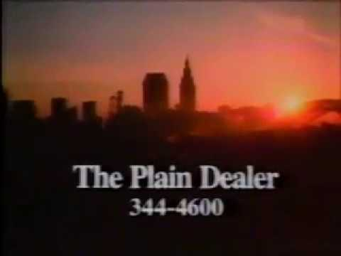 Plain Dealer Commercial - 1987