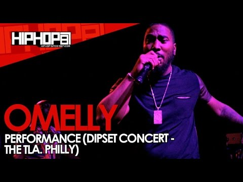 Omelly Performs At The TLA In Philly (09/21/14)