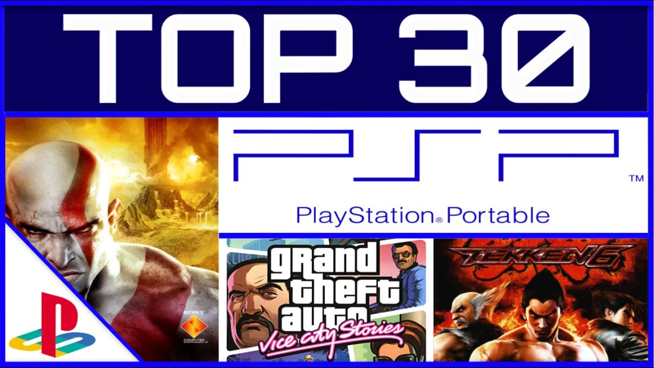 Download TOP 30 Best PSP Games of All Time