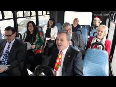 Holiday Carpool Karaoke: Senate Edition / Karaoke des Fêtes en covoiturage : Édition du Sénat