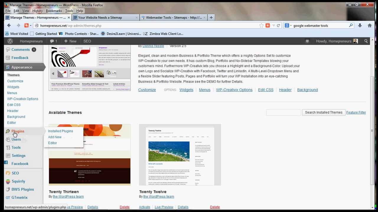 how to add sitemap in wordpress