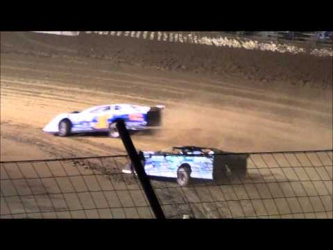 Late Model B-Main #2 From Portsmouth Raceway Park, 8/31/13.