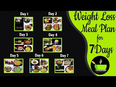 7 Indian Meal Plan To Lose Weight Fast | HOW TO LOSE WEIGHT FAST 10Kg In 10 Days | Indian Diet Plan