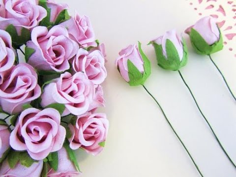 How To Make Beautiful Paper Flowers Rose Bouquet For Special Days