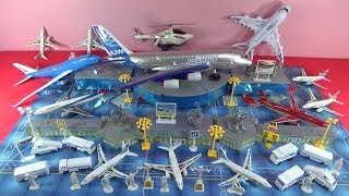 UNBOXING BEST TOYS:  Airbus A380 super plane toys Airport  Helicopter aircraft for kids