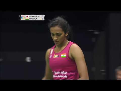 Yonex-Sunrise Hong Kong Open 2017 | Badminton QF M1- WS | Akane Yamaguchi vs Pusarla V. Sindhu