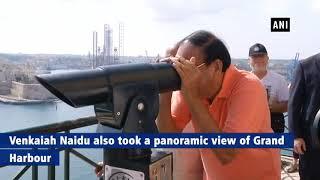Venkaiah Naidu visits historic city of Mdina