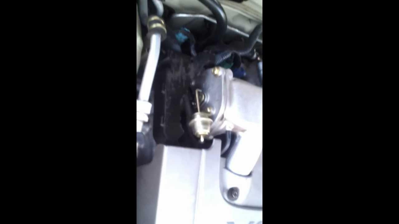 2002 nissan maxima engine knocking rattle noise at idle part 1