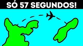 57 Segundos - O Voo de Passageiros Mais Curto do Mundo