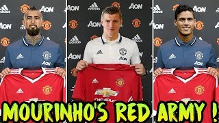 Transfer News (2018) TOP 6 Players MANCHESTER UNITED Need To Regain DOMINANCE ft Kroos Varane Pogba
