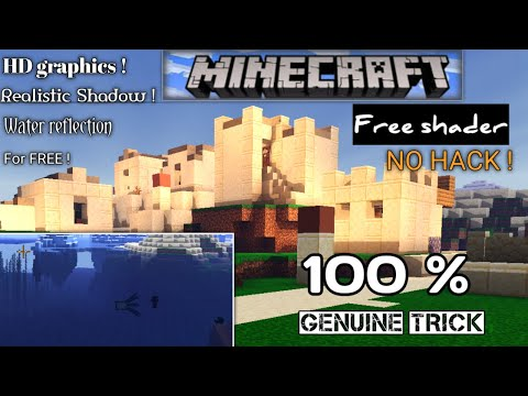 HD Graphics in Minecraft ! [How to get realistic graphics in Minecraft] #2 Tech_tips