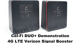 Cel-Fi DUO+ Verizon LTE Signal Booster Demonstration