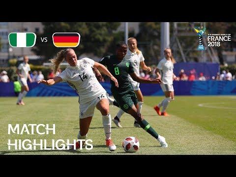 Nigeria v Germany - FIFA U-20 Women's World Cup France 2018 - Match 8