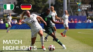 Nigeria v Germany - FIFA U-20 Women's World Cup France 2018 - Match 8