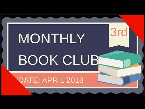 MONTHLY LIVE BOOK CLUB(#376)