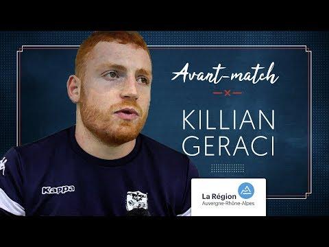 Killian Geraci : « Gagner à l'extérieur est un objectif »