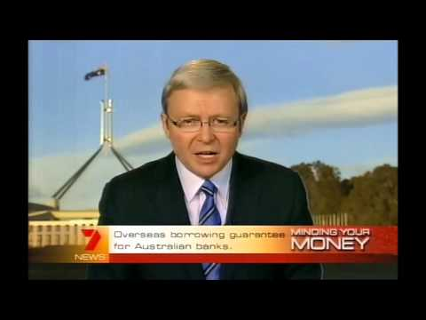 PM KEVIN RUDD - Global Financial Crisis 12th October 2008