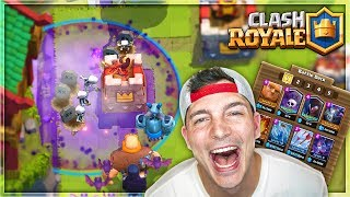 NYTE WITCH, BATS & GRAVEYARD SWARM! - Clash Royale