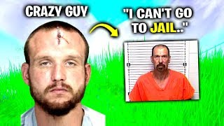 i Got Crazy Guy ARRESTED - Fortnite