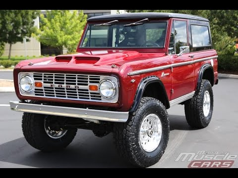 3a77c3151b7 1967 Ford Bronco - Mainly Muscle Cars Test Drive - YouTube