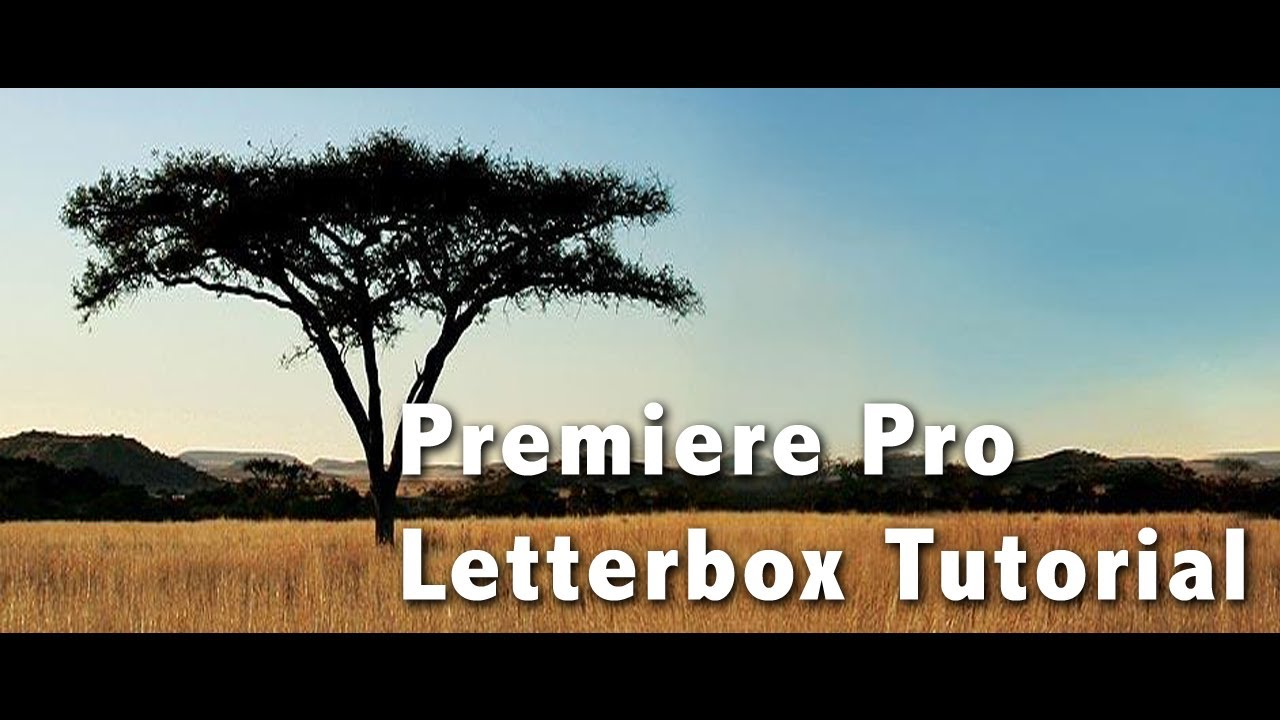 Premiere pro letter box tutorial youtube premiere pro letter box tutorial spiritdancerdesigns