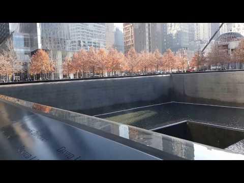 28.11.2016. Нью-Йорк. Мемориал Reflecting Absence.