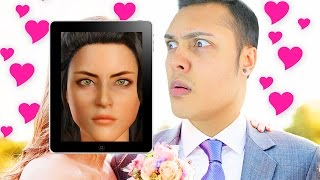 MEET MY VIRTUAL GIRLFRIEND! (WEIRD IPAD GAMES) Thumbnail