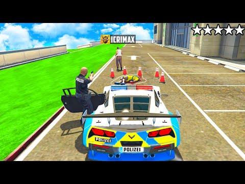 ich ARBEITE als POLIZIST in GTA 5 RP!