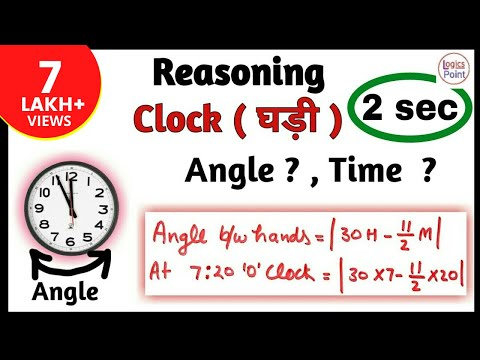 Reasoning Clocks || घड़ी short tricks || SSC CGL , CPO , CHSL , REASONING
