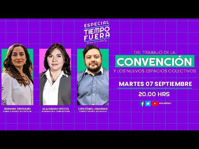 Late de La Neta Tiempo Fuera: Adriana Ampuero y Cristóbal Andrade