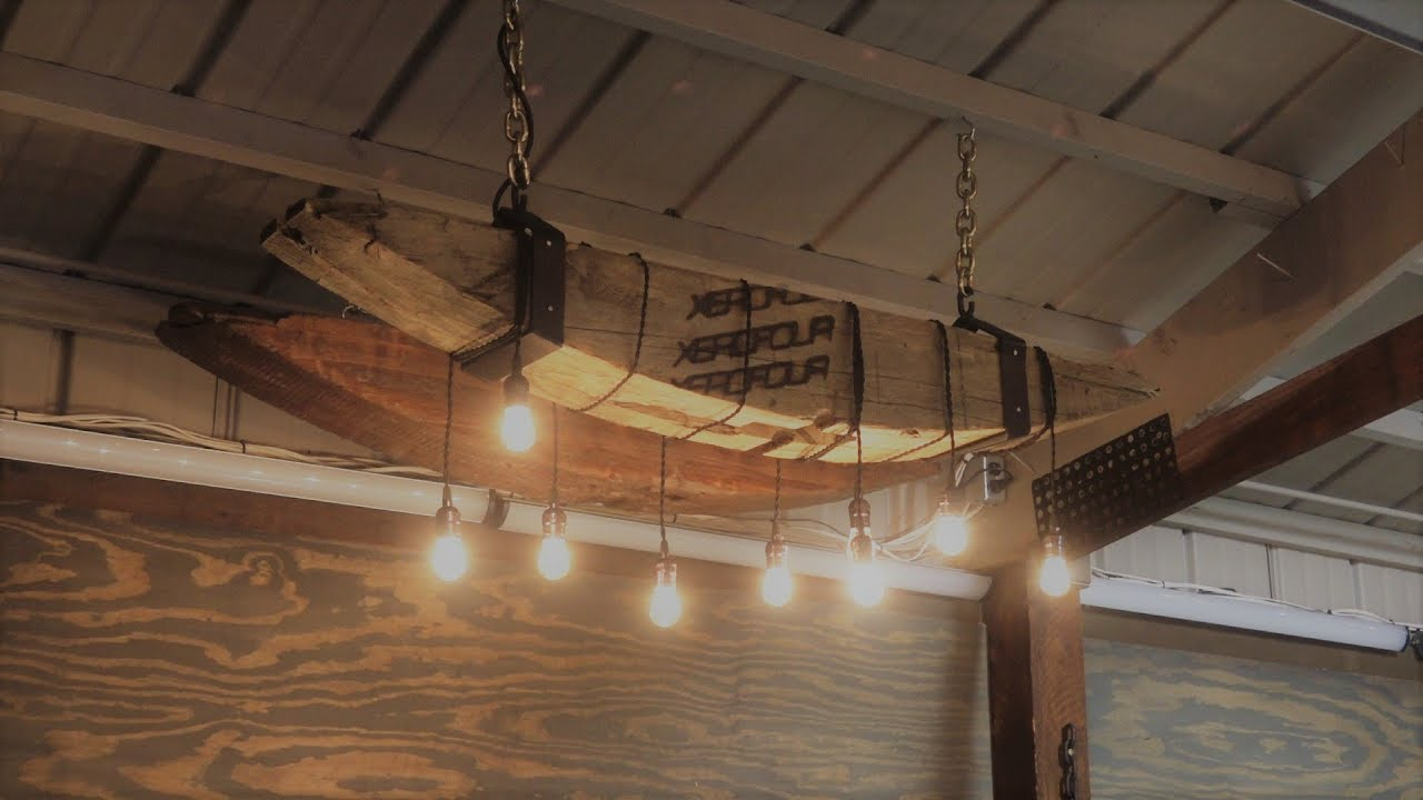 Reclaimed beam edison chandelier how to step by step diy youtube reclaimed beam edison chandelier how to step by step diy aloadofball Gallery