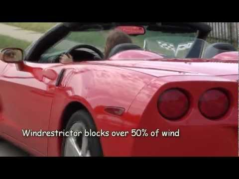 WindRestrictor®: Personalize your Corvette and reduce wind turbulence!