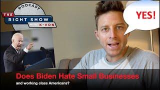 "Does Biden Hate Small Businesses & You? (comedian K-von says ""Yes!"")"