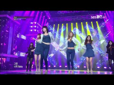 Live HD | 121123 Girl's Day - Don't Forget Me @ SBS The Show All About K-POP